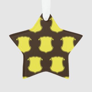Escudo Brown amarillo del escudo