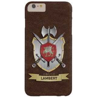 Escudo Brown de la batalla de Sigil del dragón Funda De iPhone 6 Plus Barely There