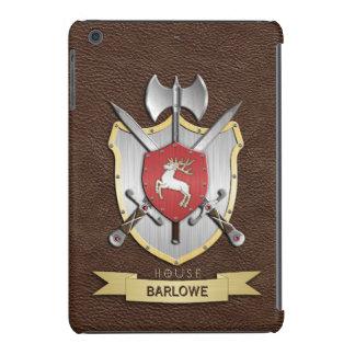 Escudo Brown de la batalla de Sigil del macho Fundas De iPad Mini Retina