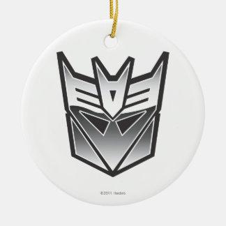 Escudo BW de G1 Decepticon Adorno Redondo De Cerámica