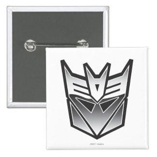 Escudo BW de G1 Decepticon Pins