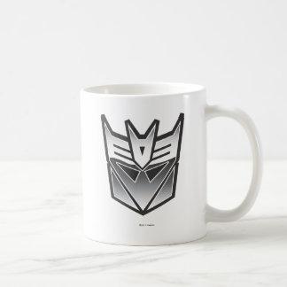 Escudo BW de G1 Decepticon Taza De Café