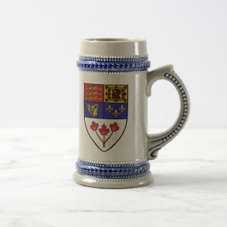 Escudo canadiense Canadá Tazas De Café