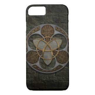 Escudo céltico de la trinidad funda iPhone 7