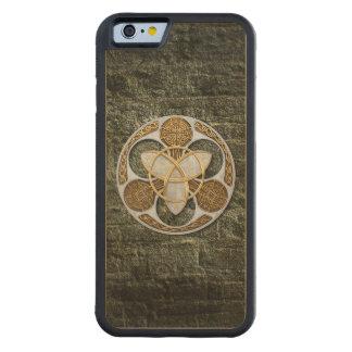Escudo céltico funda de iPhone 6 bumper arce