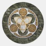Escudo céltico pegatina