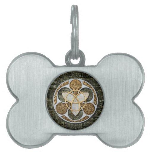 Escudo céltico placa de mascota