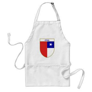Escudo chileno de la bandera delantal