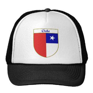 Escudo chileno de la bandera gorra