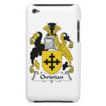 Escudo cristiano de la familia iPod Case-Mate cobertura
