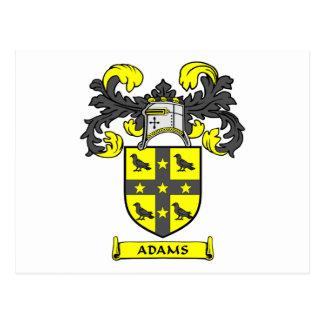 Escudo de Adams Tarjetas Postales