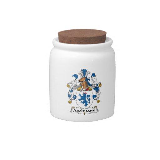 Escudo de Adelmann Famiy Jarras Para Caramelos