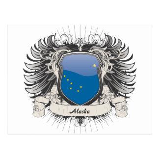 Escudo de Alaska Tarjetas Postales