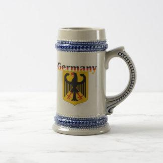 Escudo de Alemania/escudo de armas alemán Stein Taza