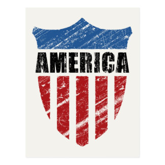 Escudo de América Tarjeta Postal