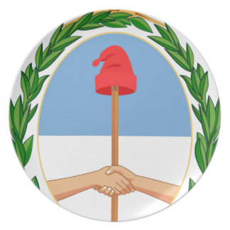 Escudo de Argentina - Coat of arms of Argentina Plate