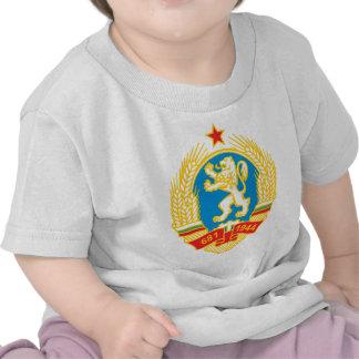 Escudo de armas 1971 de Bulgaria Camisetas
