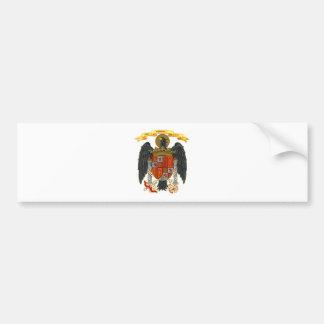 Escudo de armas 1977 de España Etiqueta De Parachoque