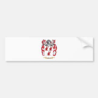 Escudo de armas alegre (escudo de la familia) pegatina de parachoque