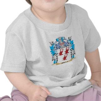 Escudo de armas alegre - escudo de la familia camiseta