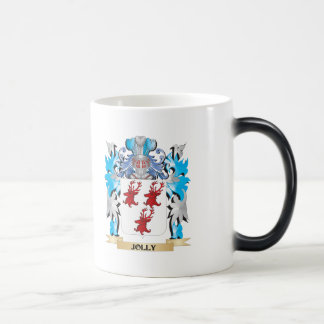 Escudo de armas alegre - escudo de la familia taza de café