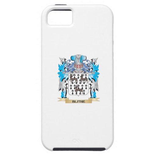 Escudo de armas alegre iPhone 5 carcasa