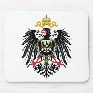 Escudo de armas alemán del imperio (1889) alfombrillas de ratón