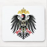 Escudo de armas alemán del imperio (1889) tapete de raton