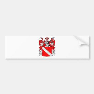 Escudo de armas (alemán) del panadero pegatina de parachoque