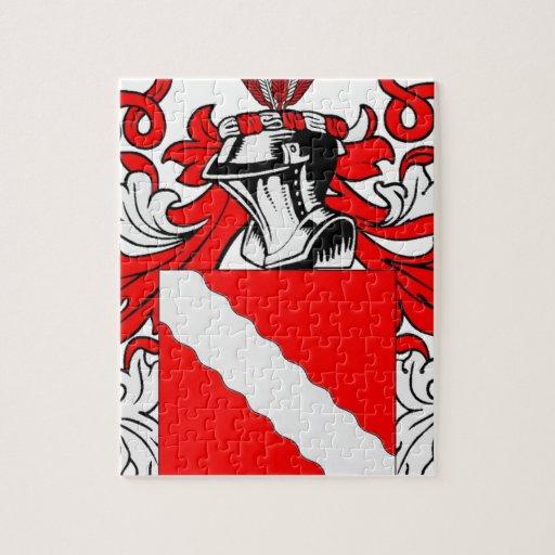 Escudo de armas (alemán) del panadero puzzles con fotos