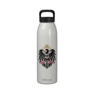 Escudo de armas Alemán imperio de 1889 águilas de  Botallas De Agua