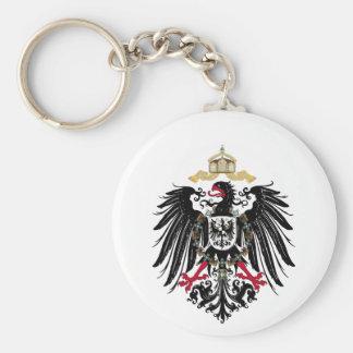 Escudo de armas Alemán imperio de 1889 águilas de Llavero Redondo Tipo Pin