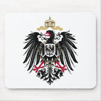 Escudo de armas Alemán imperio de 1889 águilas de Mousepad