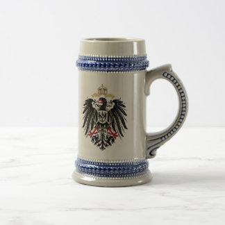 Escudo de armas Alemán imperio de 1889 águilas de  Taza De Café
