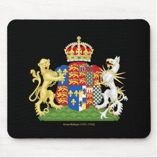 Escudo de armas Ana Bolena Alfombrillas De Ratones