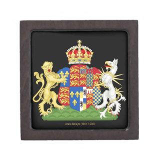 Escudo de armas Ana Bolena Cajas De Regalo De Calidad