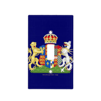Escudo de armas Ana Bolena Cubierta Para Interruptor