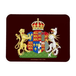 Escudo de armas Ana Bolena Imanes Flexibles