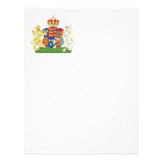 Escudo de armas Ana Bolena Membrete Personalizado