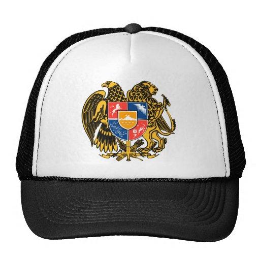 Escudo de armas armenio gorras
