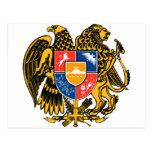 Escudo de armas armenio postal