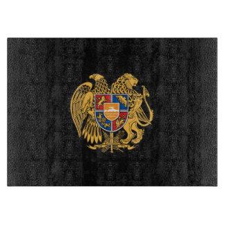 Escudo de armas armenio tablas de cortar