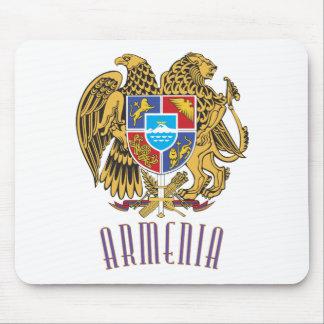 Escudo de armas armenio alfombrillas de raton
