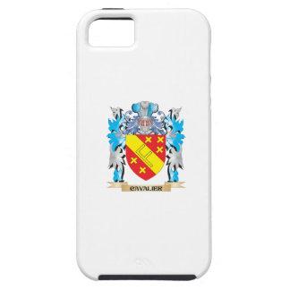 Escudo de armas arrogante - escudo de la familia iPhone 5 Case-Mate coberturas