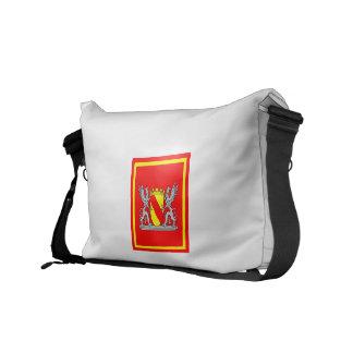 Escudo de armas bañada primer mandatario Stander 1 Bolsa De Mensajería