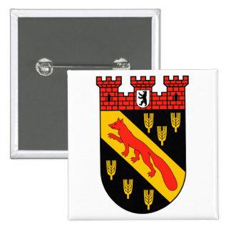 Escudo de armas Berlín Reinickendorf Pin Cuadrado
