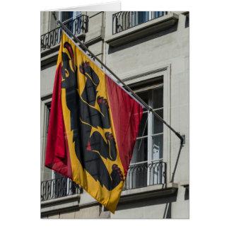 Escudo de armas - Berna - Suiza Tarjeta De Felicitación