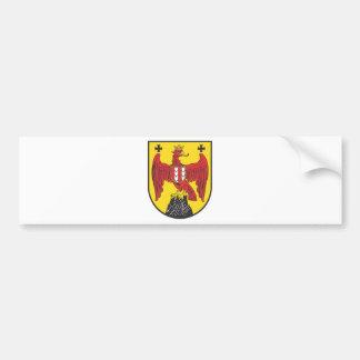 Escudo de armas Burgenland Austria Pegatina De Parachoque