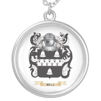 Escudo de armas Campana-Inglés (escudo de la famil Colgante Redondo