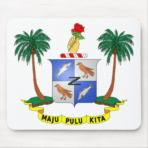 Escudo de armas cc de las islas de los Cocos (Keel Tapetes De Ratón